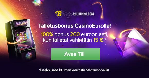 Talletusbonus CasinoEurolle!